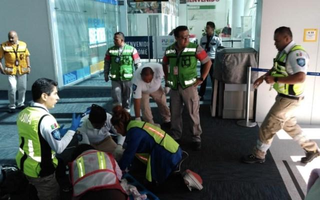 Avión aterriza de emergencia por bebé con problemas respiratorios - Foto de @NoticiasTribuna