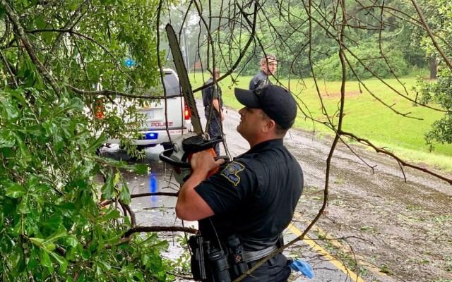 Barry se degrada a depresión tropical en Louisiana - Barry Luisiana inundaciones