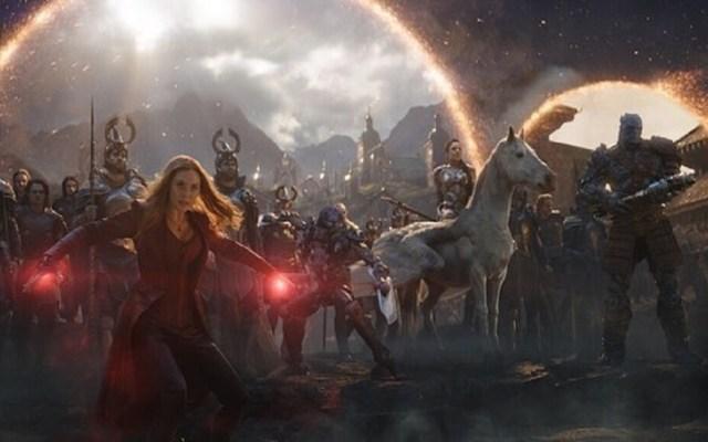 James Cameron felicita a 'Avengers' por récord de taquilla - Batalla final en Avengers Endgame. Foto de @avengers