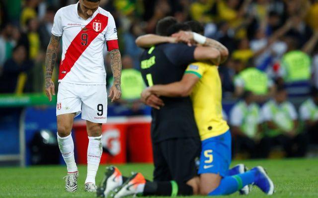 Brasil campeón de la Copa América - Brasil Campeón. Foto de EFE/Yuri Edmundo