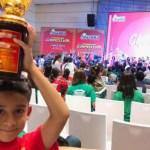 Niño mexicano es campeón mundial de cálculo mental