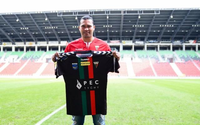 'Gullit' Peña no ha reportado con su equipo en Polonia - Foto de GKS Tychy