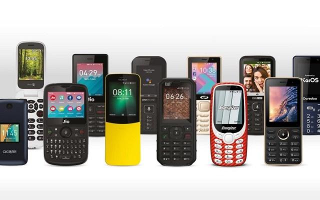 WhatsApp llega a celulares con poca memoria - Celulares con sistema operativo KaiOS. Foto de @KaiOStech