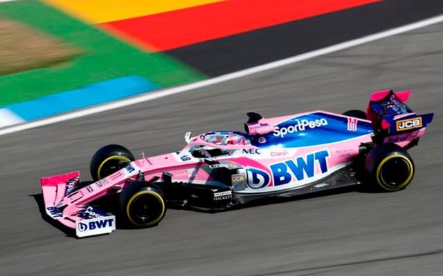 'Checo' Pérez cerca del top ten en primera sesión del GP de Alemania - checo perez gp alemania