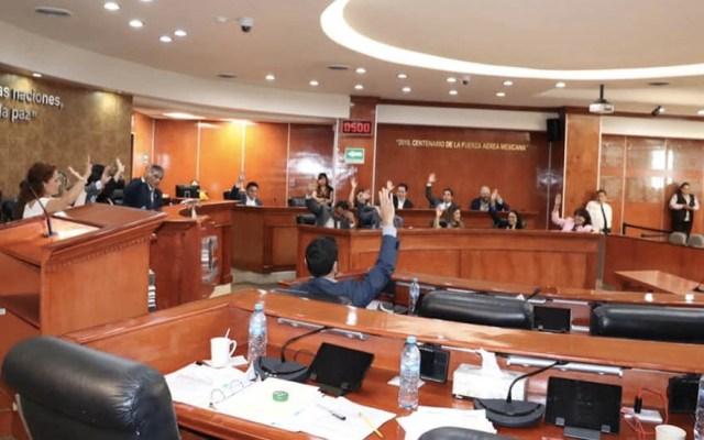 PRD denuncia ante FGR ampliación de mandato en Baja Calfornia - Foto de @congresobc