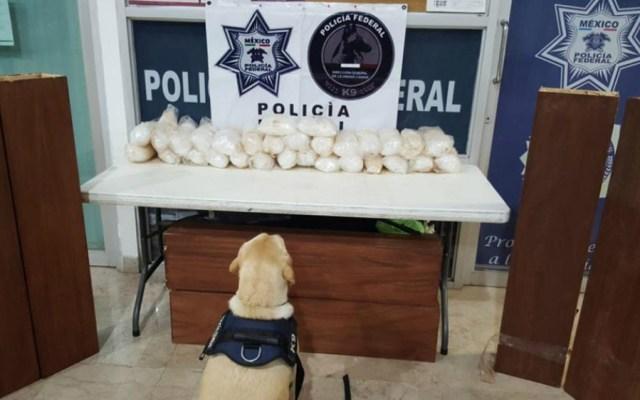 Policía Federal decomisa 30 kilos de crystal en Sinaloa - Foto de SSPC