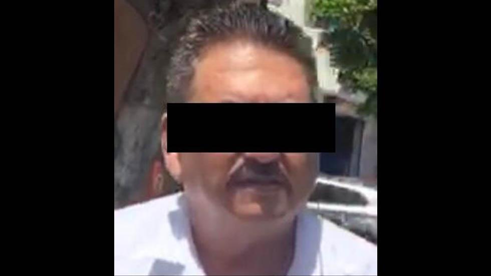 Ingresan a penal de Cancún a líder de la CTM en Quintana Roo - Foto de FGR