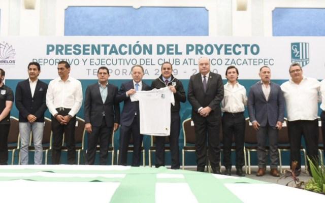 Buscará Cuauhtémoc Blanco regresar la Primera División a Morelos - Foto de @cuauhtemocb10