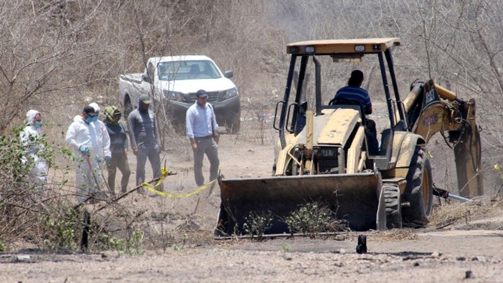 Suman siete cuerpos hallados en fosas clandestinas de Mazatlán - Foto de Archivo Notimex..