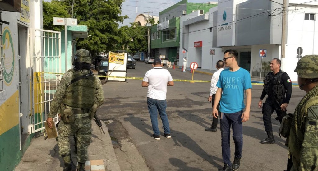 Balacera afuera de clínica en Culiacán deja un muerto y un herido - Culiacán disparos clínica