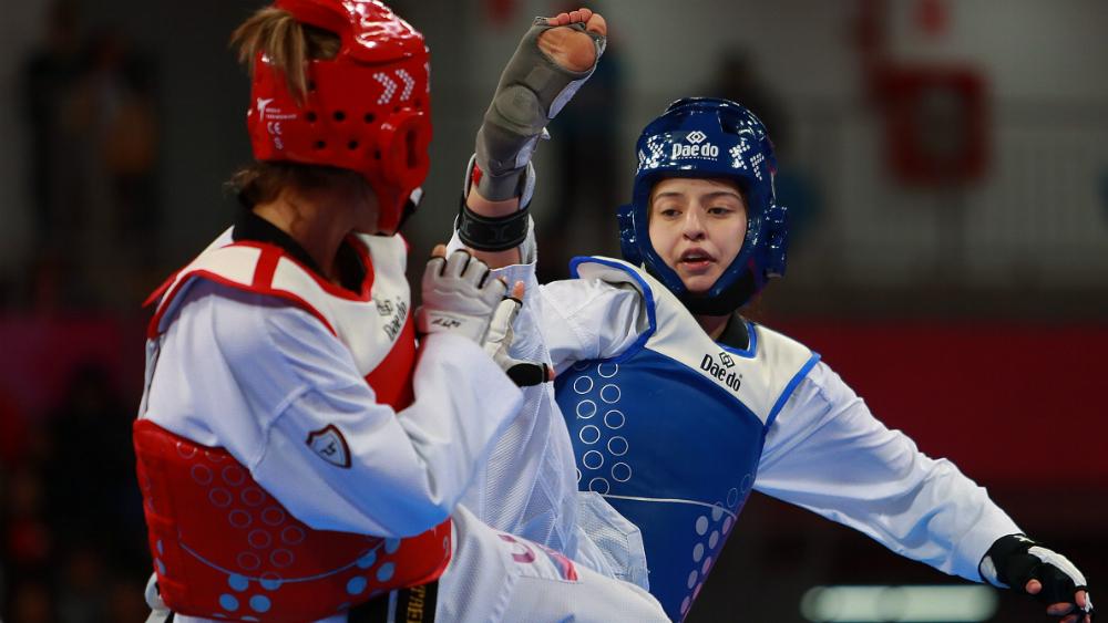 Oro y plata para México en  taekwondo de Lima 2019 - Foto de Notimex