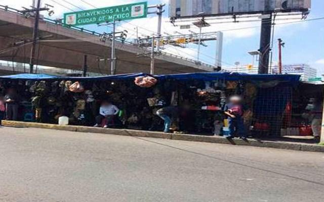 Detienen a tres por vender insignias falsas de la Guardia Nacional - Foto de Notimex