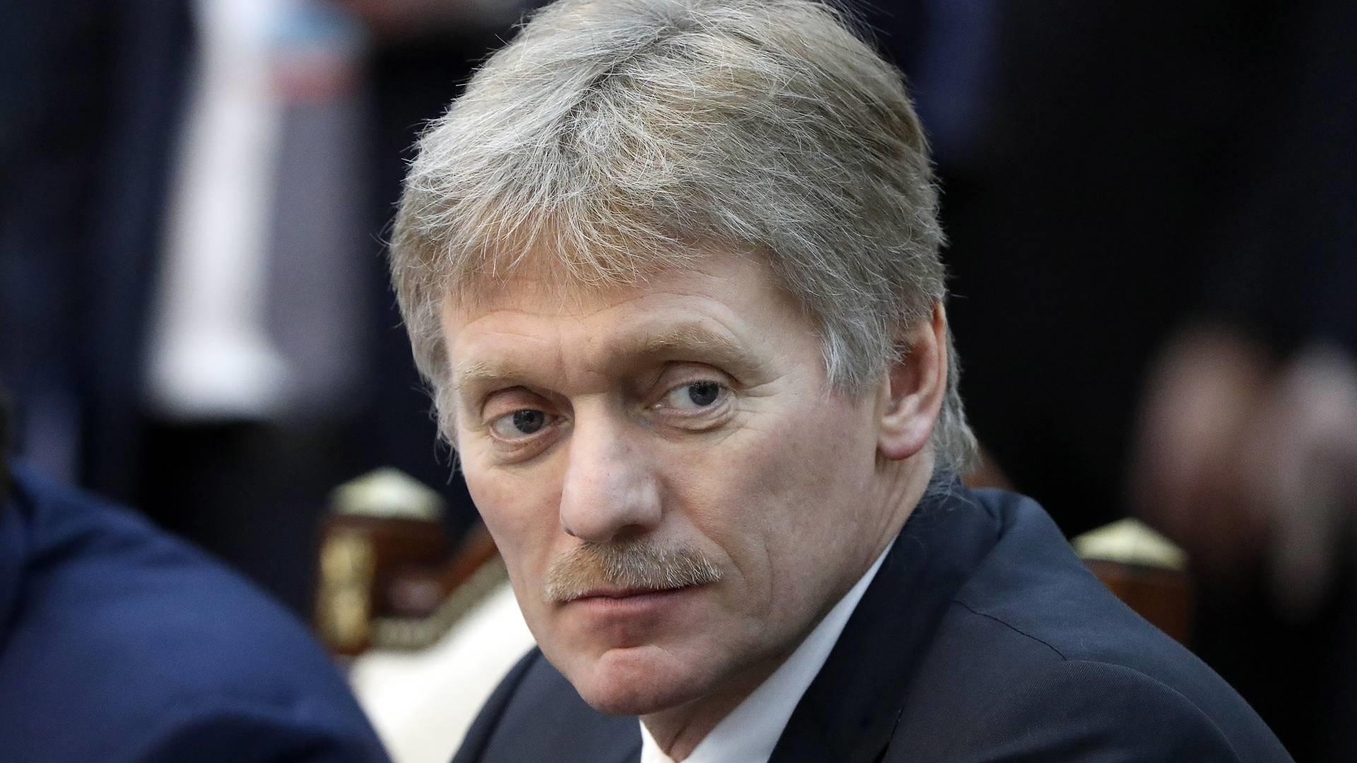 Dmitri Peskov, vocero del Kremlin. Foto de TASS