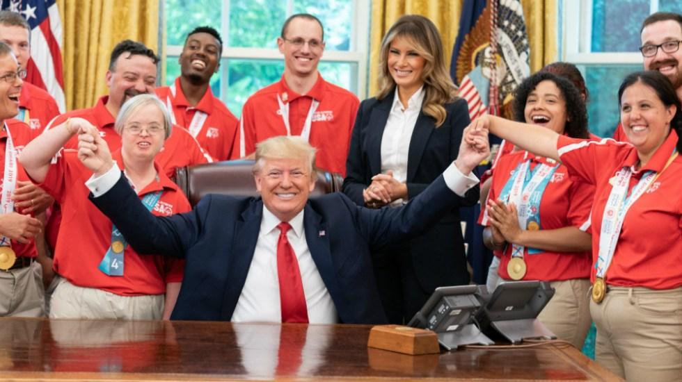 Donald Trump anuncia acuerdo presupuestario de dos años - Foto de The White House