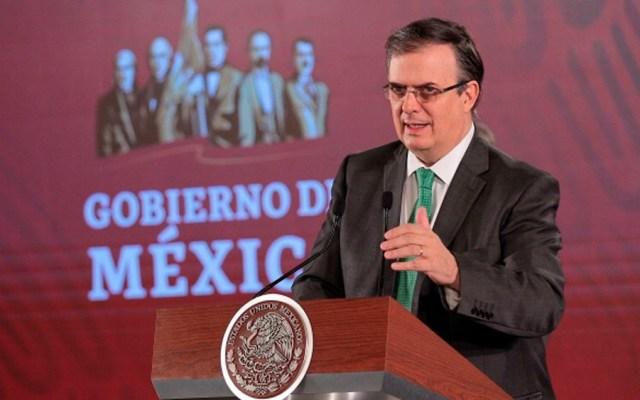 Sigue reduciéndose el flujo migratorio de México a EE.UU.: Ebrard - ebrard conferencia