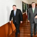 Bienes de 'el Chapo' Guzmán, tema en reunión Ebrard-Pompeo