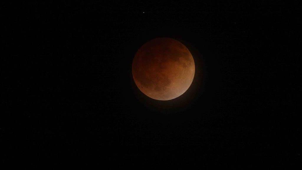 #Video Así se vió el eclipse lunar de este martes. Noticias en tiempo real