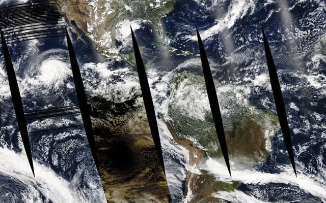 Así se vio el eclipse de Sol desde un satélite de la NASA - Foto de NASA