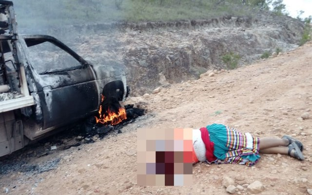 Asesinan a mujer indígena durante emboscada en Guerrero - Ejecución de mujer indígena en Chilapa. Foto Especial