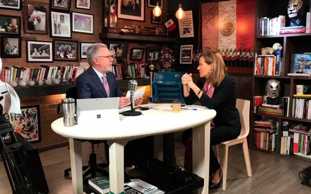 El gobierno está generando una pobreza republicana: Margarita Zavala - entrevista margarita zavala méxico libre