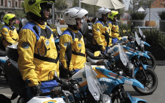 Paramédicos en motocicletas atenderán accidentes - Foto de @SSaludCdMx