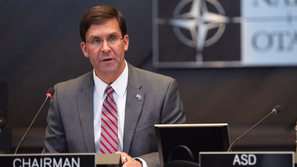 Mark Esper, nominado para cargo de secretario de Defensa de EU