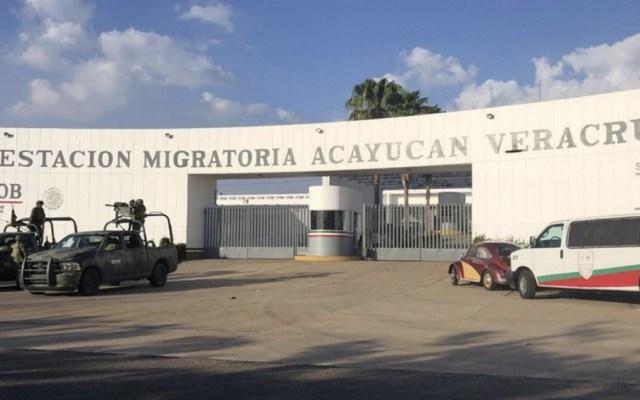 Rescatan a 150 migrantes en Veracruz - Foto de @TeleSaltillo