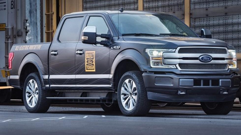 #Video Ford reta a Tesla con nueva camioneta eléctrica - Foto de Ford