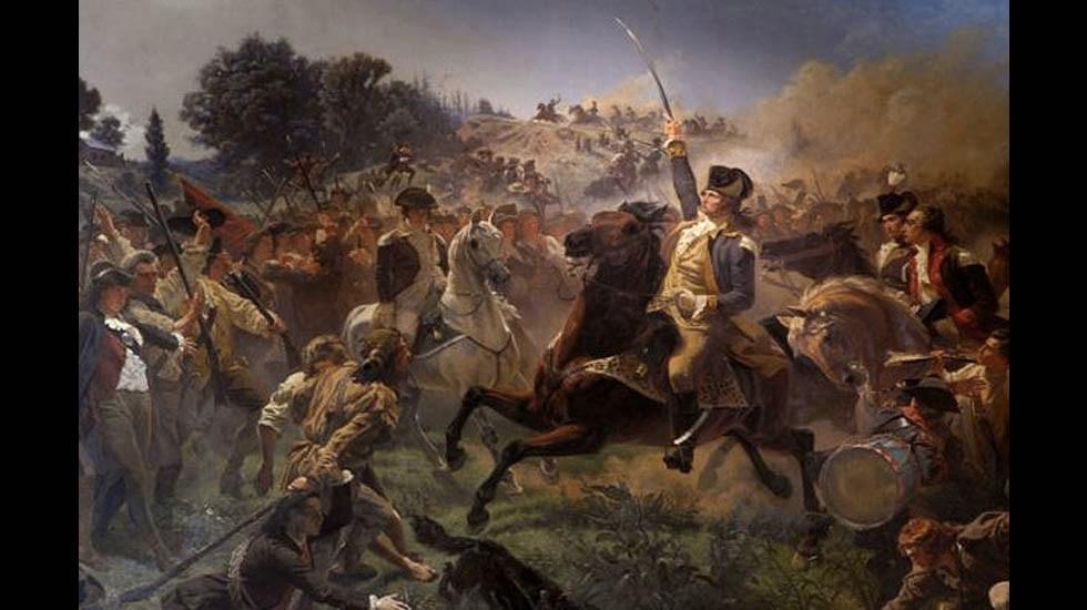 El nacimiento de Estados Unidos - Guerra Independencia Estados Unidos