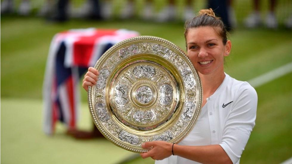 Halep vence a Williams y se corona en Wimbledon - wimbledon