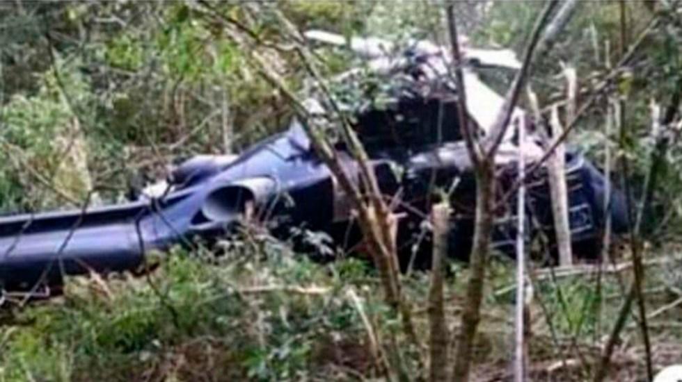 Aeronave accidentada en Michoacán estaba en perfecto estado - helicóptero Michoacán