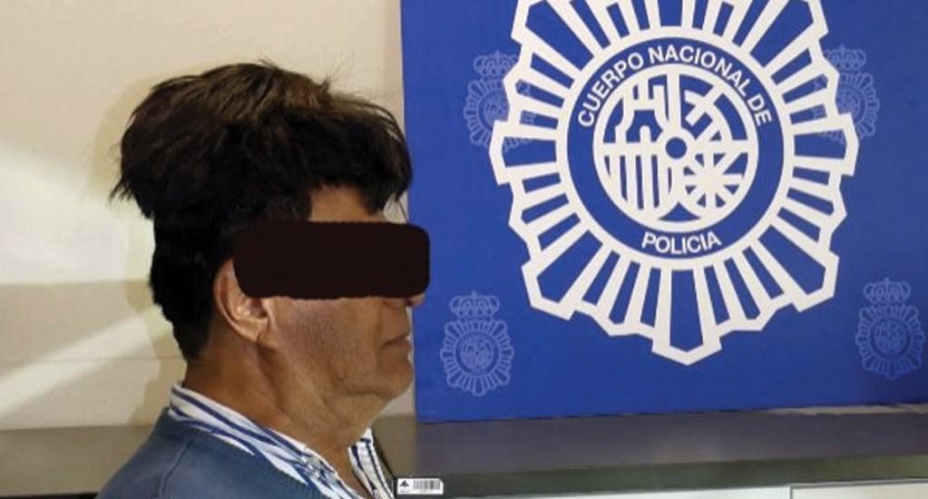 Detienen a hombre que intentó ingresar a España con cocaína escondida en peluquín - Foto de Policía Nacional Española