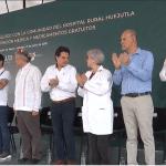Visita de López Obrador a Hospital Rural Huejutla de Reyes, Hidalgo
