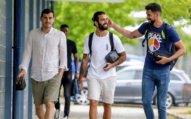 Casillas se une a pretemporada del Porto dos meses después de su infarto - Iker Casillas Porto