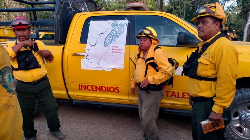 Incendios forestales azotan Quintana Roo - incendio quintana roo