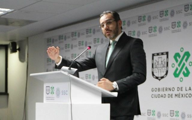 Presenta Godoy denuncia ante FGR y PGJ por maquillar cifras de delitos - Foto de Notimex