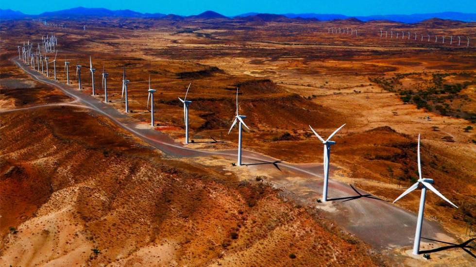 Kenia inaugura planta de energía eólica más grande de África - Kenia planta de energía eólica