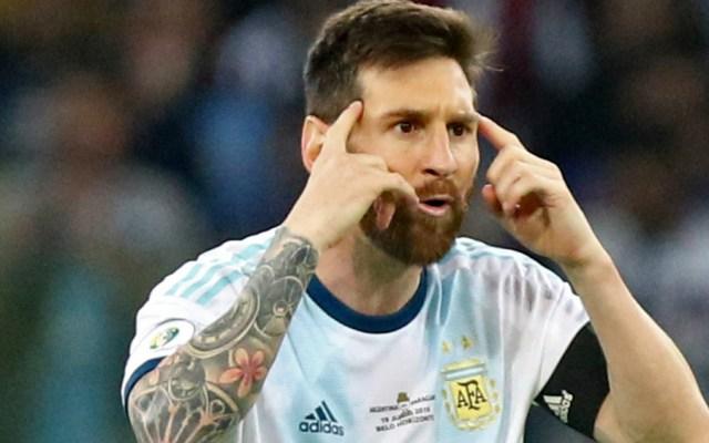"Scaloni ve ""indudable"" que a Messi ""le hace falta ganar algo"" con Argentina - Foto de Mexsport"