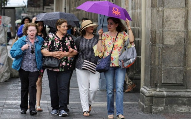 Pronostican lluvias en casi todo el país - lluvias