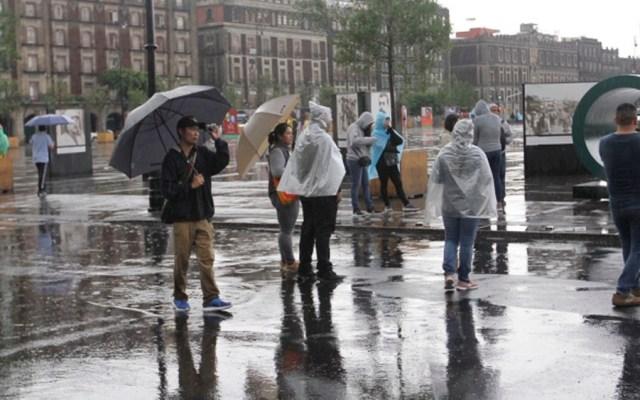 Activan Alerta Amarilla por lluvias en nueve alcaldías - lluvias