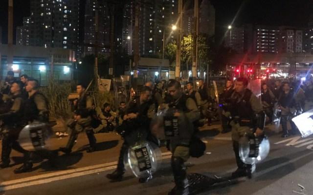 Manifestantes desobedecen a la policía y realizan marcha en Hong Kong - manifestaciones hong kong