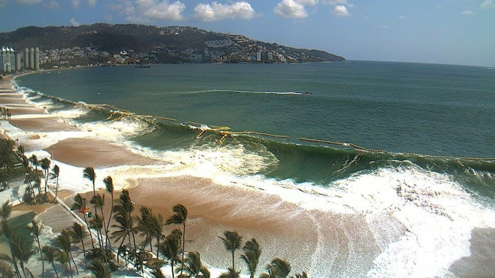 Mar de fondo se propagará en el Pacifico desde Chiapas hasta Sinaloa - mar de fondo