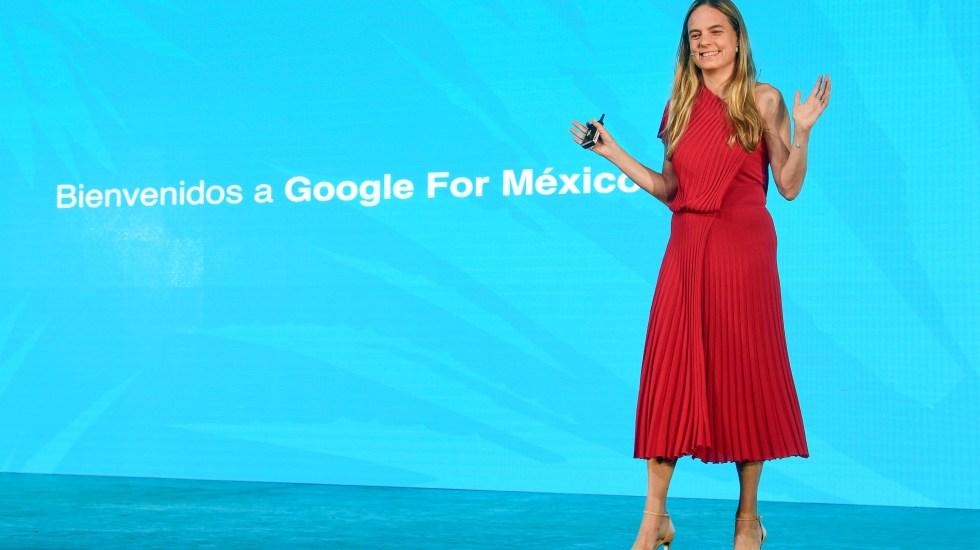 Impacto de Google en México asciende a 47 mil millones de pesos - Mariate Arnal, directora de Google México.