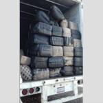 Ejército asegura camión con una tonelada de mariguana en Nayarit