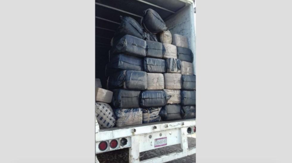 Ejército asegura camión con una tonelada de mariguana en Nayarit - Foto de Internet
