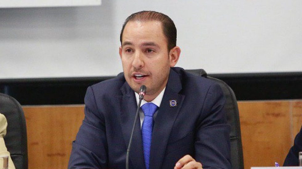 Marko Cortés pide a López Obrador reajustar Ley de Ingresos 2020 - Marko Cortés Mendoza. Foto de @MarkoCortes