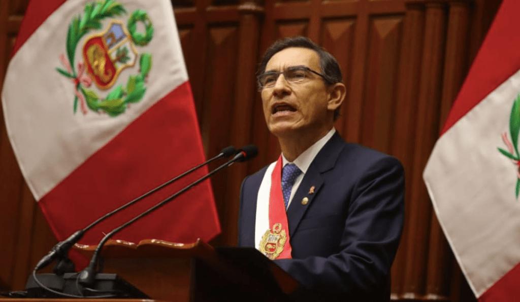 Presidente de Perú propone adelantar elecciones y recortar su mandato - Foto de EFE