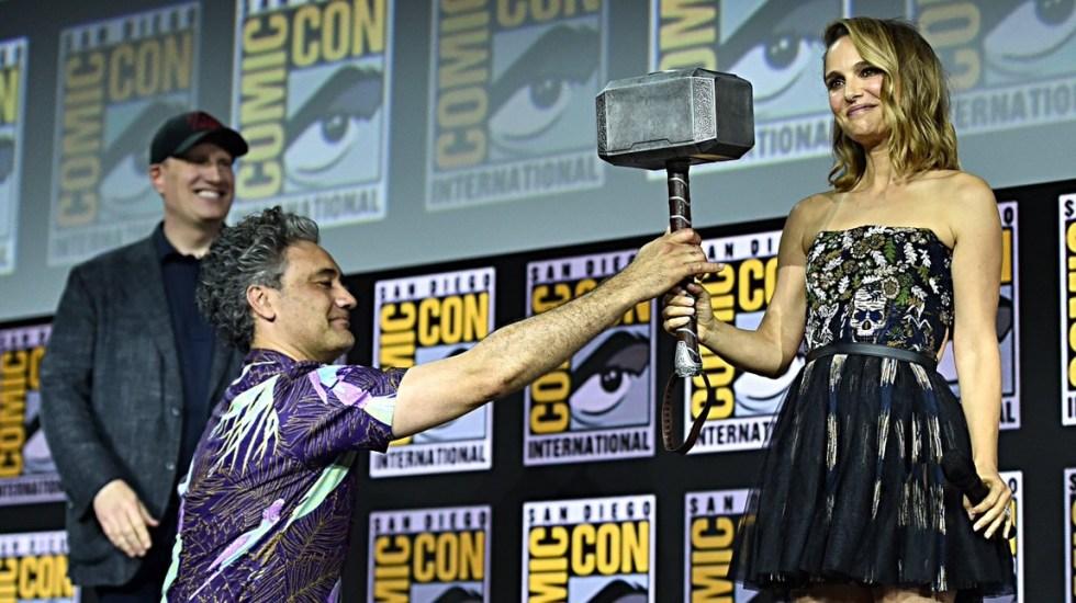 """Así será la """"cuarta fase"""" del Universo Cinematográfico de Marvel - MCU Marvel Natalie Portman"""