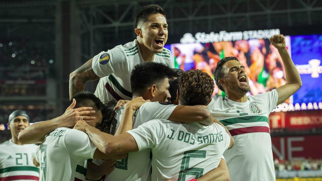 El Tri avanza a la final de la Copa Oro gracias a un penal contra Haití - México Haití partido Copa Oro