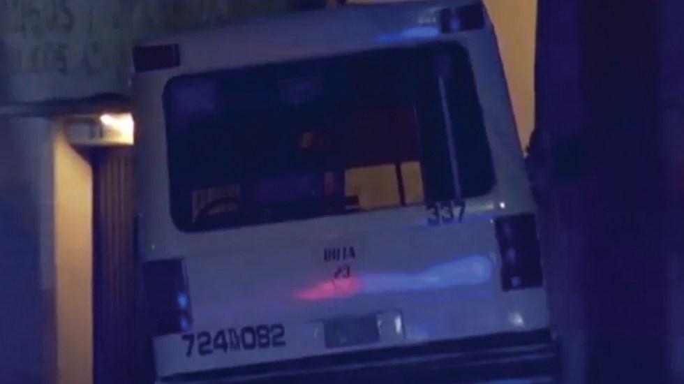 Presuntos ladrones disparan contra microbús en Tlalnepantla - Microbús, archivo. Foto de Noticieros Televisa